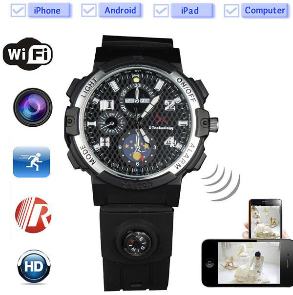 8GB - 32GB WIFI HD Watch Camera (WCH-27A).