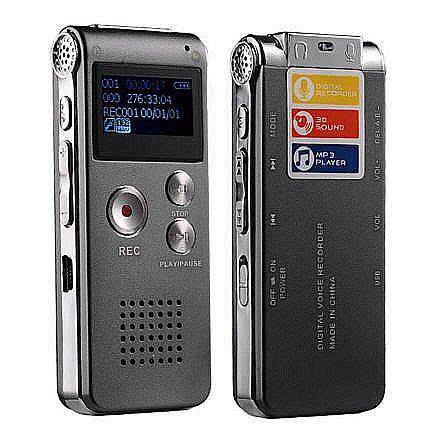 8GB Digital Voice / Phone Recorder MP3 Player (WVR-07A).