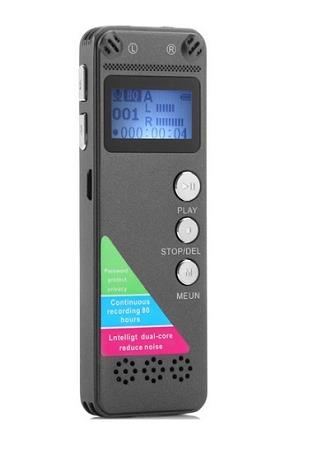 8GB Digital Voice Recorder With MP3 and LCD (WVR-09C).