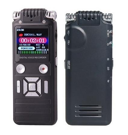 8GB Dual Microphone Voice Recorder (WVR-10).