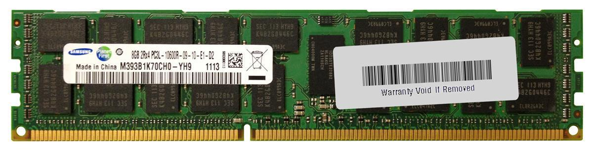 8GB PC3L-10600R REG ECC DDR3L-1333 SERVER RAM SAMSUNG HYNIX