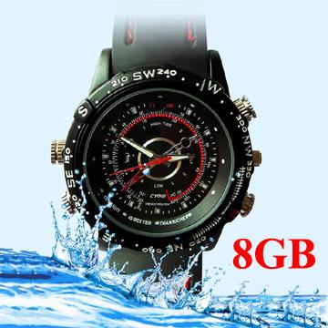 8GB Waterproof Watch Camera, 1280x960 (DVR-11S8GB).!