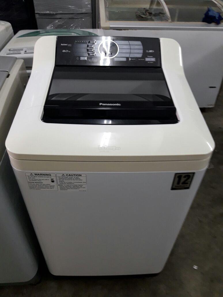 8kg Panasonic Fully Auto Washer Wash End 1 14 2017 1 14 Pm