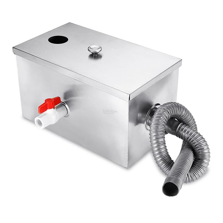 Grease Trap For Sale >> 8lb 5gpm Gallons Per Minute Grease Trap Stainless Steel Interceptor Th