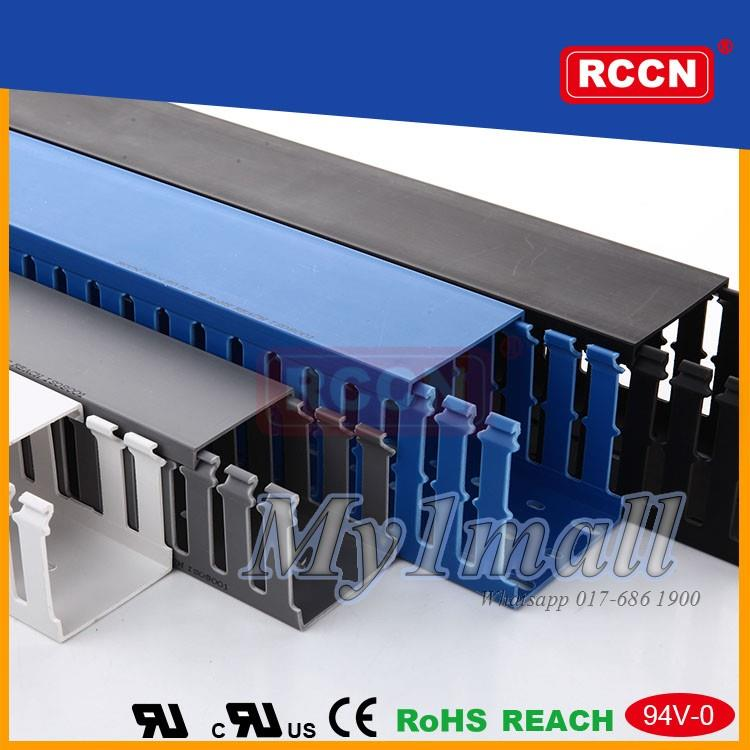 Amazing 8Mm Open Slot Wiring Duct Grey Pvc End 6 12 2019 12 24 Pm Wiring 101 Hisonstrewellnesstrialsorg