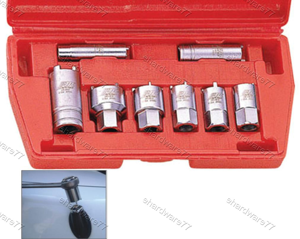 8PCS RADIO & ANTENNA SPECIAL SOCKET SET (1616)
