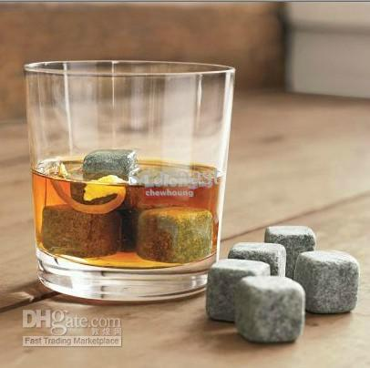 8Pcs Whisky Stone Drinks Cooler Cube Ice Stone Wine Cooler Stone