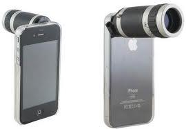 8X Zoom Optical Telescope Lens For iPhone 4 & 4S - Free Shipping