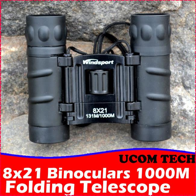 8x21 Binoculars Long Range 1000m Folding Telescope
