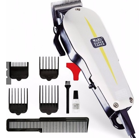 9 In 1 Wahl Super Taper Electrical Powerful Hair Clipper/Trimmer/Cutte