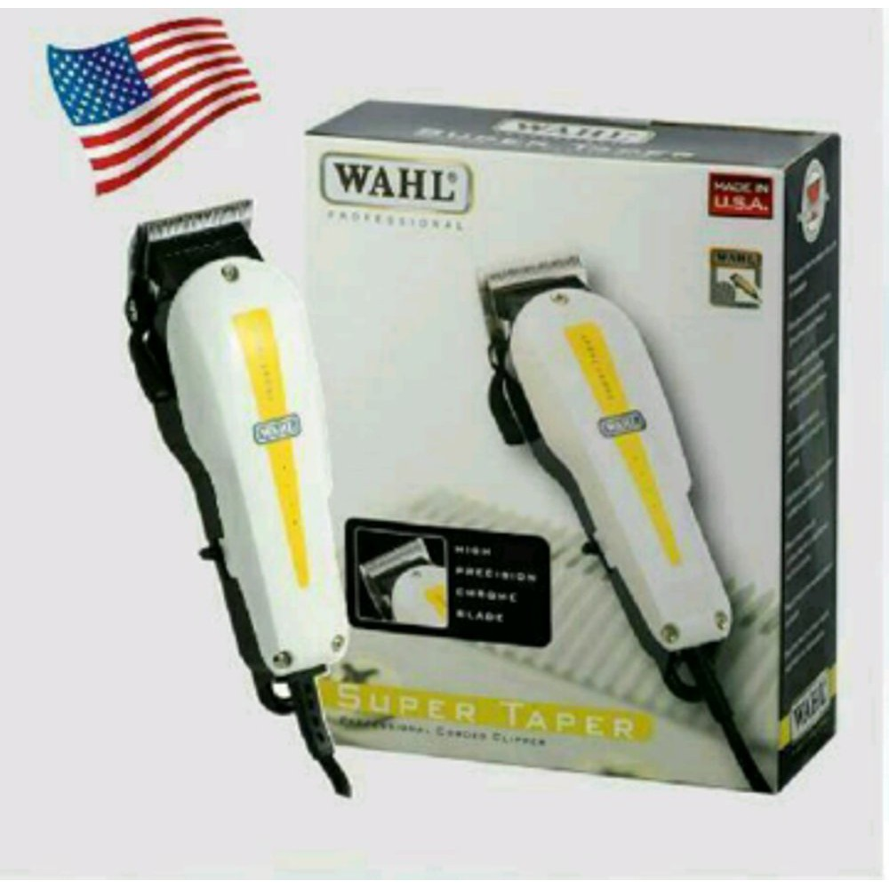 9 In 1 Wahl Super Taper Electrical Powerful Hair Clipper Trimmer Cutter  Shaver 137b12611d