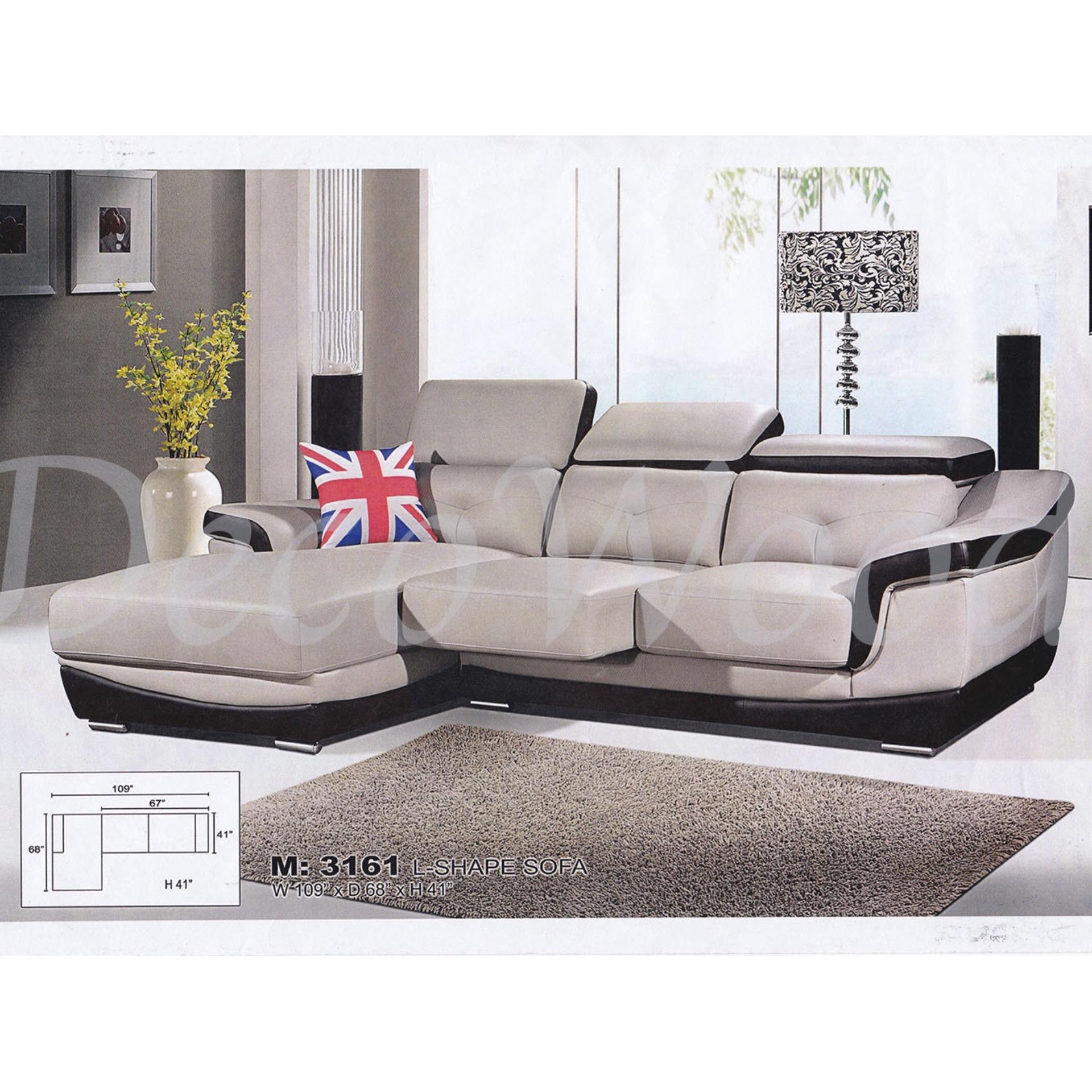 9 Feet Casa Leather L Shape Sofa C End 4 28 2021 12 00 Am