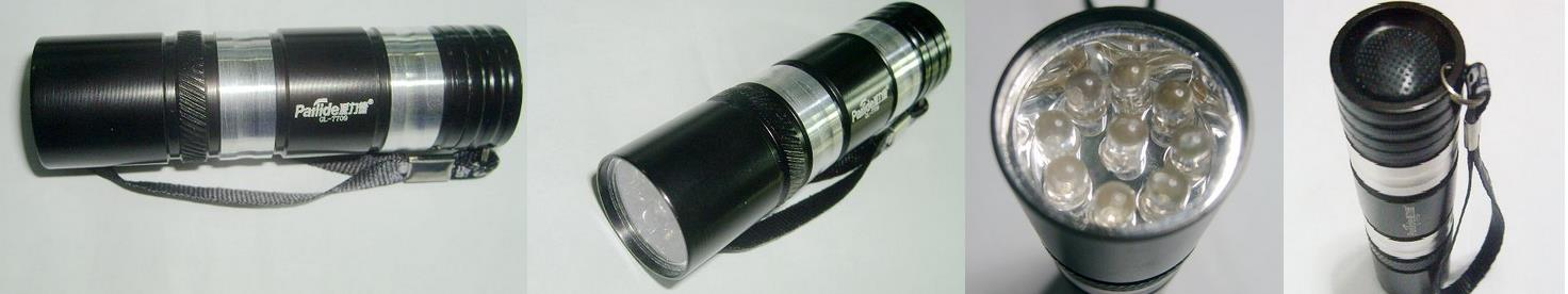 9 LED UV flashlight/ Money Detector (clearer visibly)