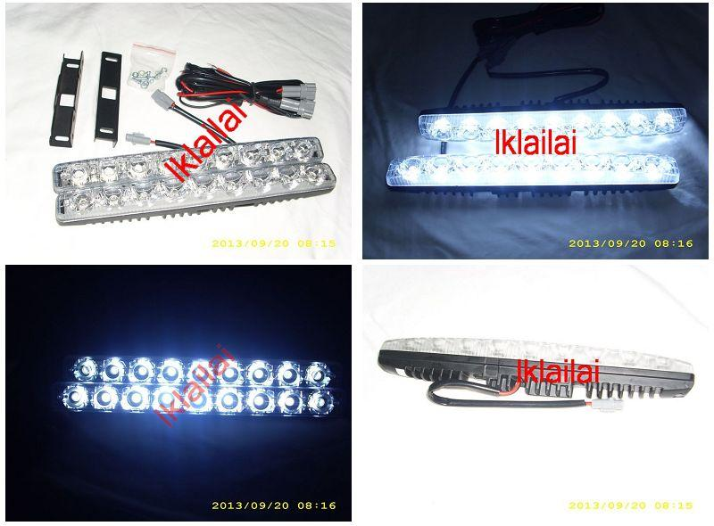 9-pcs LED DAYTIME RUNNING LIGHTS [DRL]