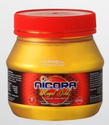 90G NICORA ROYAL GOLD PAINT (WATER BORNE)