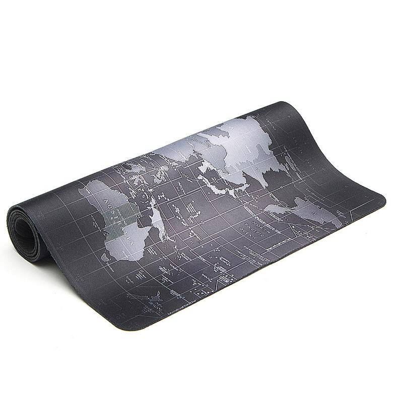 90x40x0.2cm Command Center World Map Speed Game Mouse Pad Mat