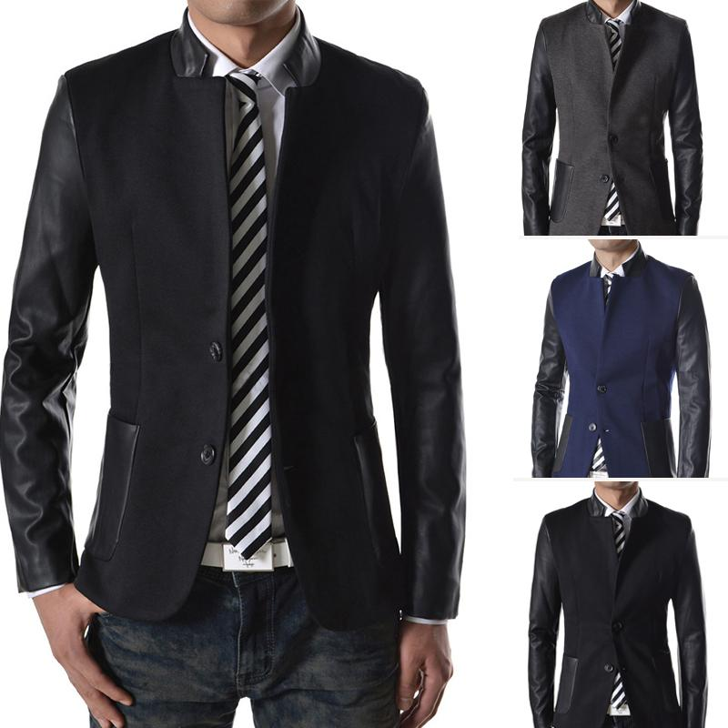 Genuine Leather Blazer: Rich, genuine leather at an amazing price! This luxe leather jacket features a great shaped fit and so many outfitting options. This luxe leather jacket features a great shaped fit and so many outfitting options.