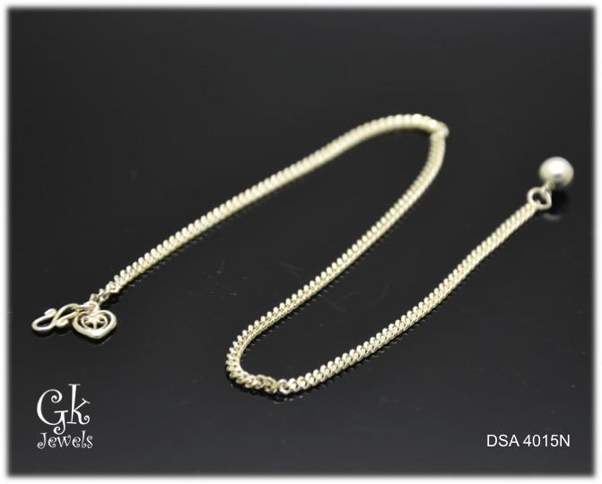 925 silver anklet SA4015 (-070-)