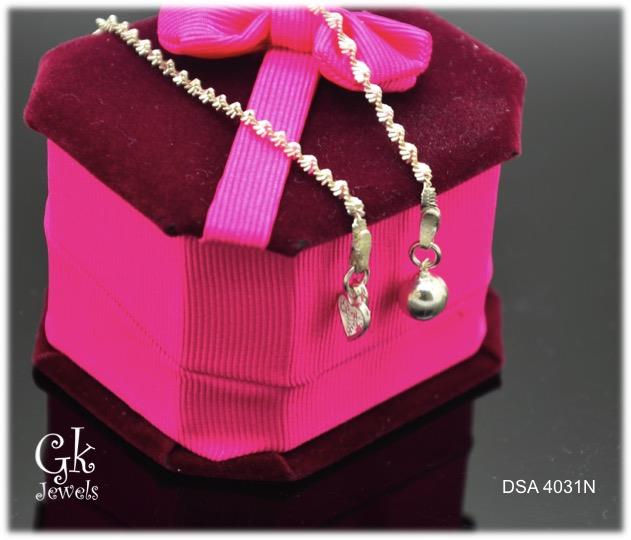 925 silver anklet SA4031 (-040-)