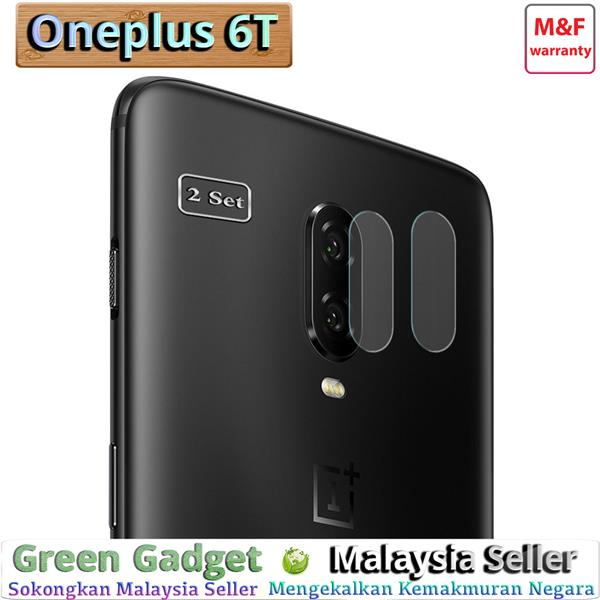 ⓶ⓢⓔⓣ Oneplus 6T Camera Protector 2.5D Flexible..