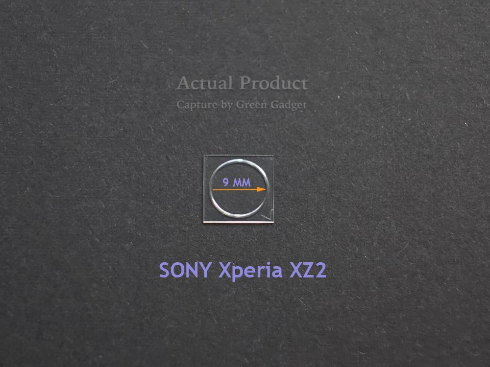 ⓶ⓢⓔⓣ SONY Xperia XZ2 Camera Protector 2.5D Flexible G