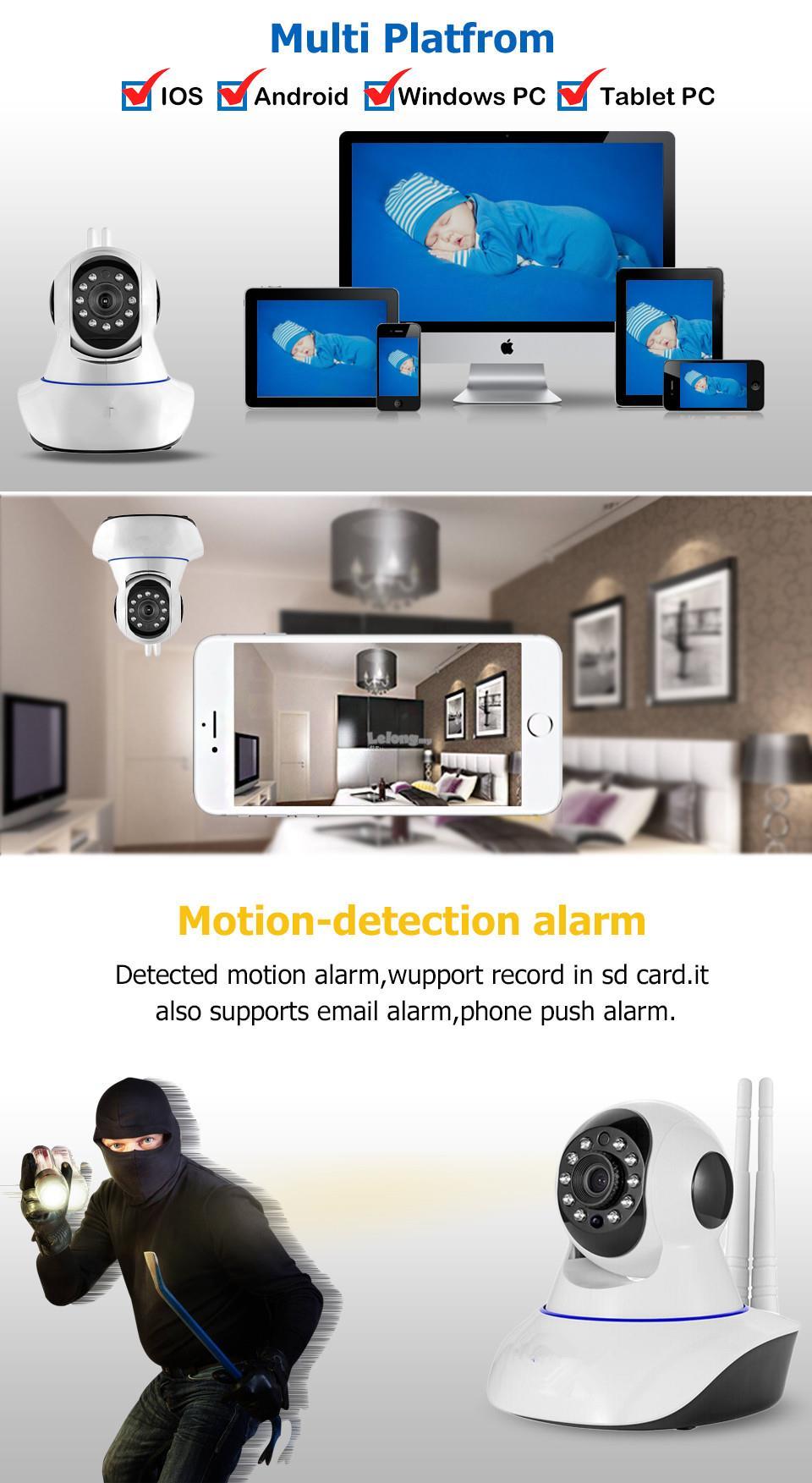 960p 1080p Wireless Intercom Cctv I End 3 19 2020 1015 Pm Ip Camera W 15 Hd Vision Dual Antenna