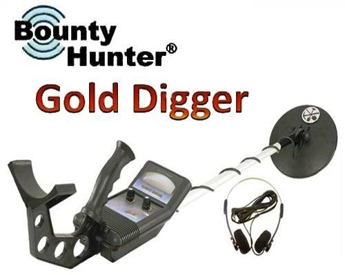 ★ Bounty Hunter Gold Digger Metal Detector Made in USA (MTD-BHGD)