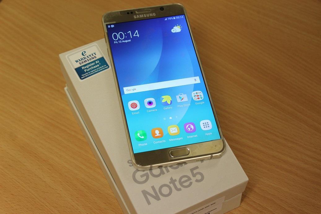 ★Value Buy~Demo Samsung GALAXY Note 5 N9208 - FULL BOX