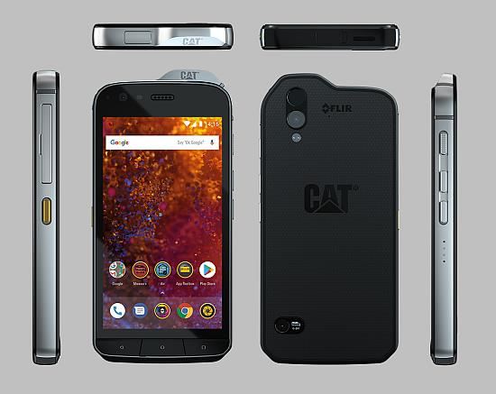 ★ Cat S61 Phone with FLIR Thermal Imaging (WP-S61)