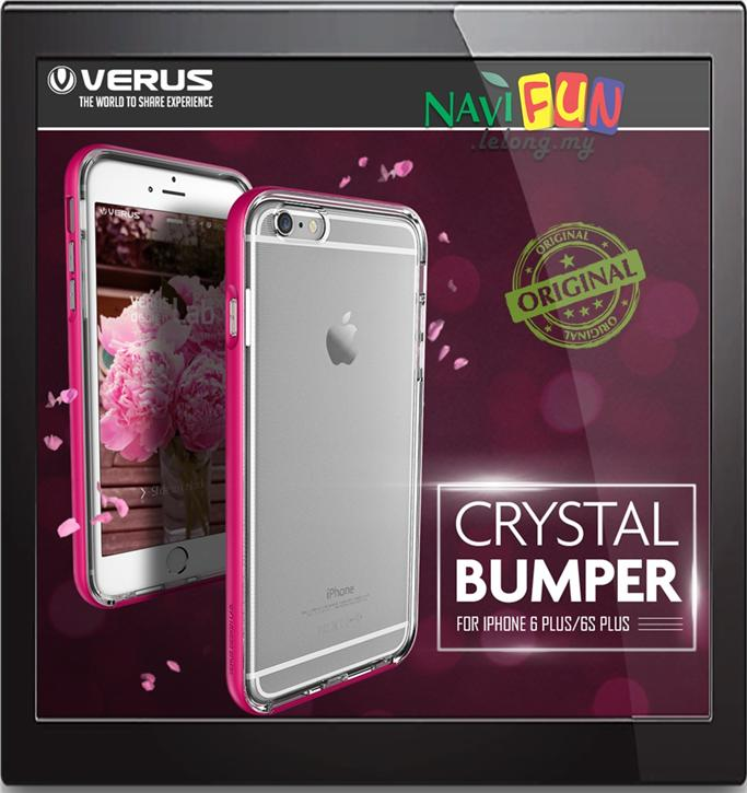 save off 0abfc 81eaa ★ [CLEARANCE] VERUS Crystal Bumper case for Apple iPhone 6s Plus