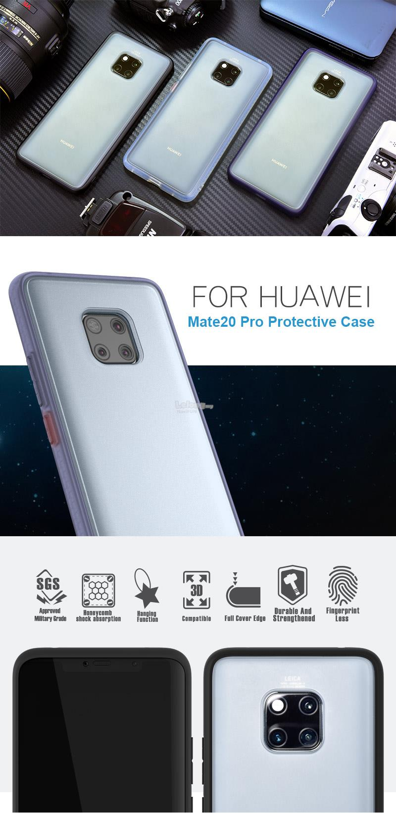 ★ HODA (ORI) ROUGH MILITARY CASE For Huawei P30 PRO