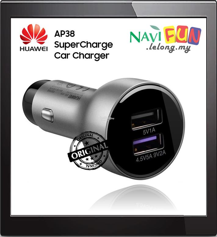 ★ HUAWEI AP38 22.5W SuperCharge Car Charger (Dual Port)