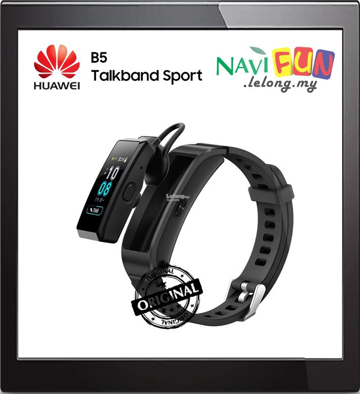 ★ HUAWEI B09 TALKBAND B5 SPORT BLACK WEARABLE BT