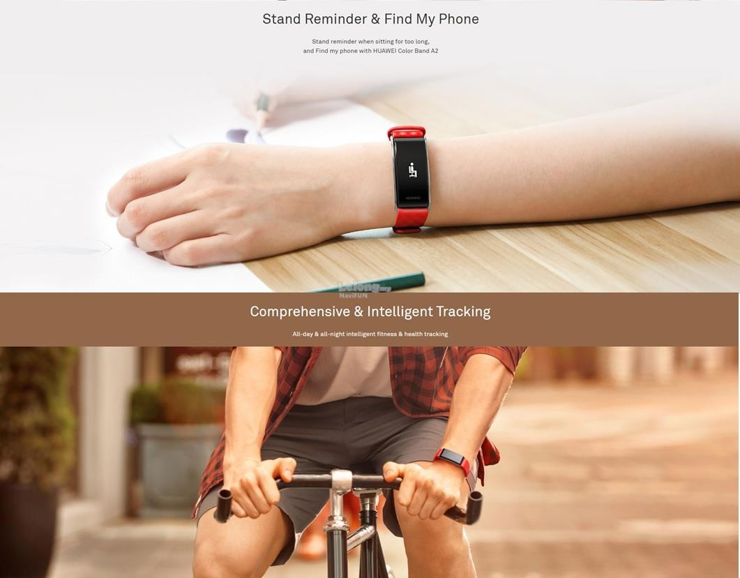 ★ Huawei (ORI) Color Band A2 Wearable fitness tracking band