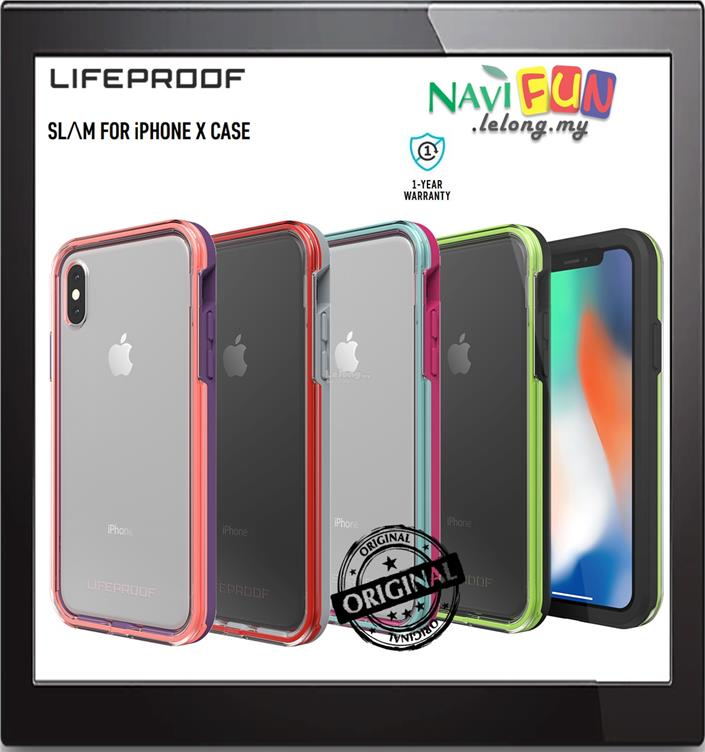 detailed look 0c818 2a33a ★ LifeProof SLAM Drop proof case iPhone X