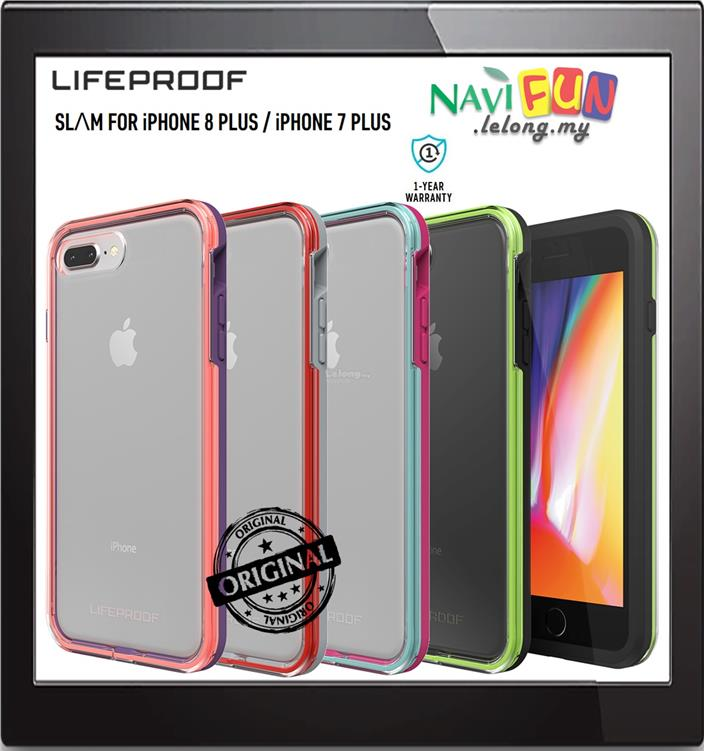 new concept 16de9 6da5c ★Lifeproof SLAM MIL drop Protection case iPhone 8 Plus / 7 Plus