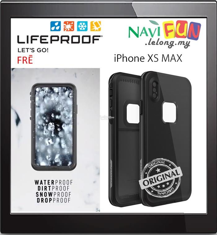 the best attitude d0174 2d536 ★ LifeProof Waterproof iP68 FRE case for Apple iPhone XS Max
