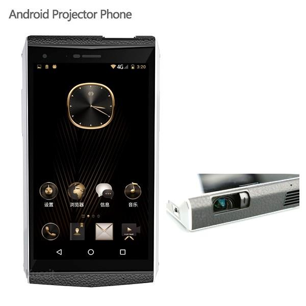 ★ Luxury Android Projector Phone (WP-M1)
