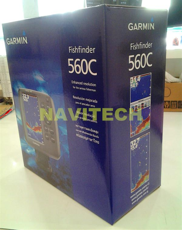 ~★Navitech★ Brand New Original GARMIN Fishfinder Echo 560C