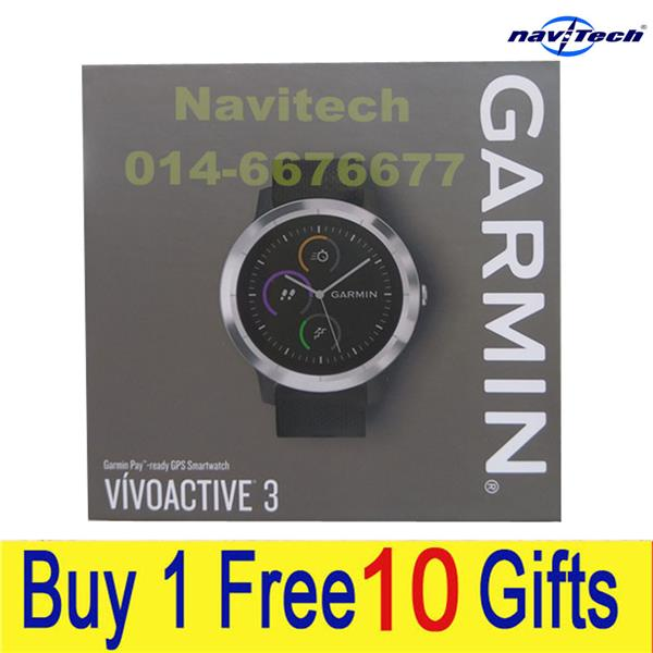~★Navitech★ New Original GARMIN Vivoactive 3 HR Multisport Watch