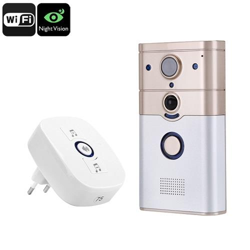 ★ Night Vision Wifi Video Doorbell Intercom (DPV-03)