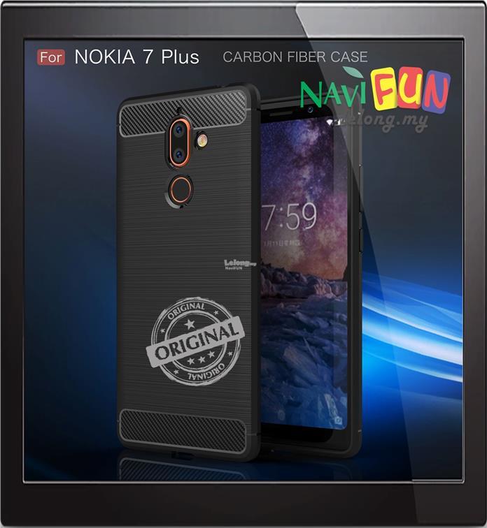 buy popular 5b203 f6aeb ★ Nokia 7 Plus 2018 Rugged TPU Slim Armor Case