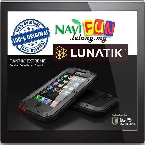 official photos d9c5f b7b31 ★Original LUNATIK TAKTIK EXTREME 5, Corning® Gorilla® Glass