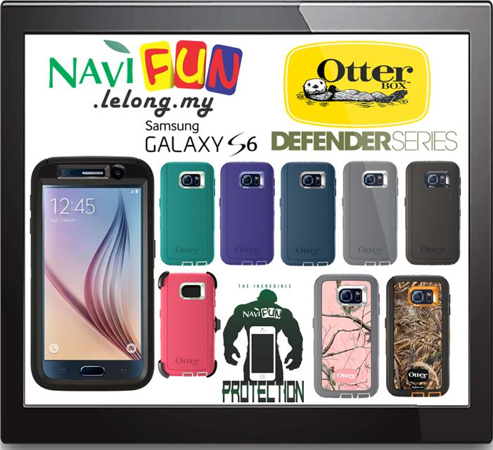super popular 8e2d6 2e144 ★ OtterBox Defender Series Case for Samsung Galaxy S6