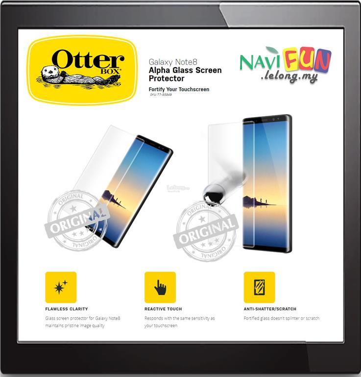 half off eaa32 3f2e3 ★ OtterBox GALAXY NOTE 8 ALPHA GLASS SCREEN PROTECTOR