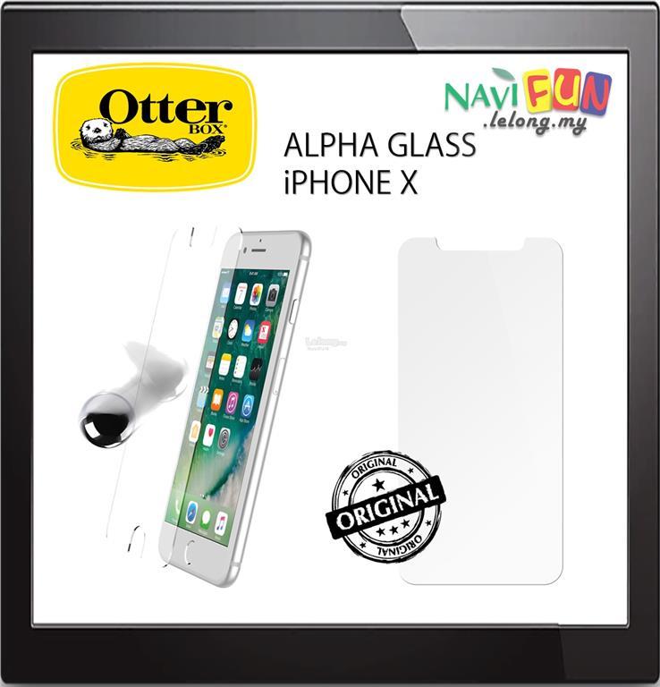 big sale db531 ca876 ★OtterBox iPHONE X / XS ALPHA GLASS SCREEN PROTECTOR