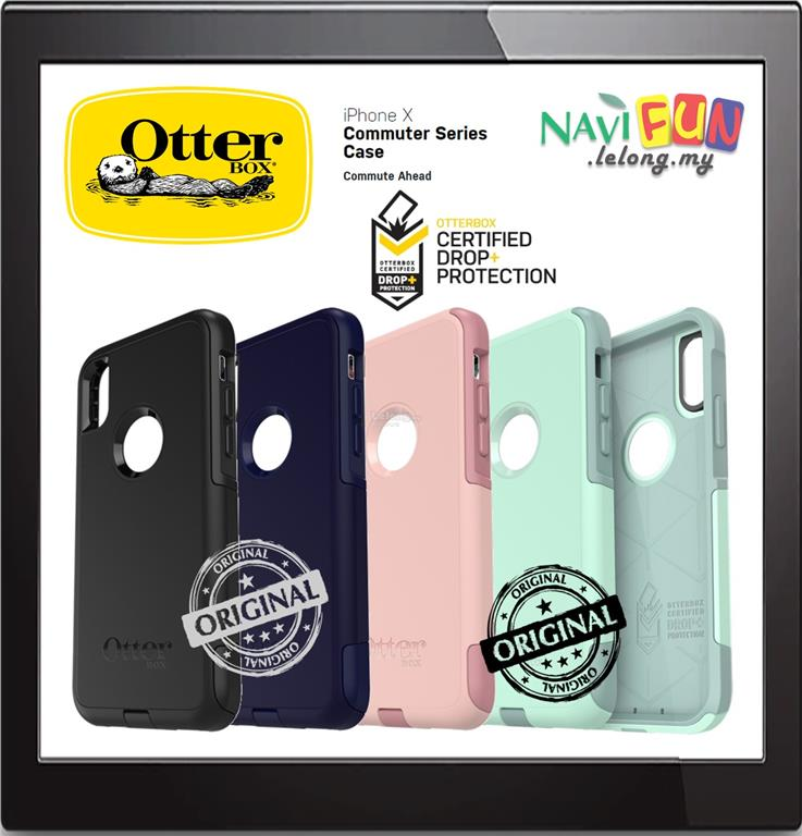 los angeles f8b74 5d897 ★ OtterBox iPHONE X / XS COMMUTER SERIES Two-Layer CASE