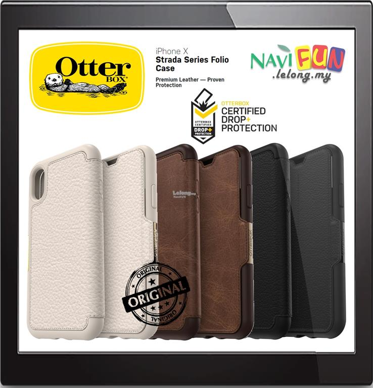 cheap for discount 66d6a 08e62 ★ OtterBox iPHONE X / XS STRADA SERIES FOLIO CASE