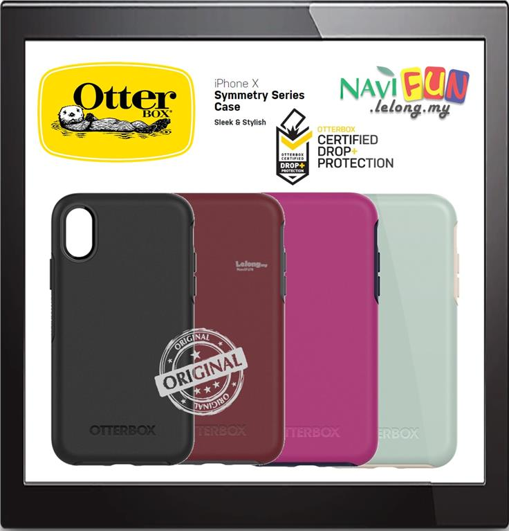 brand new a1f37 ee04b ★ OtterBox iPHONE X / XS SYMMETRY SERIES CASE