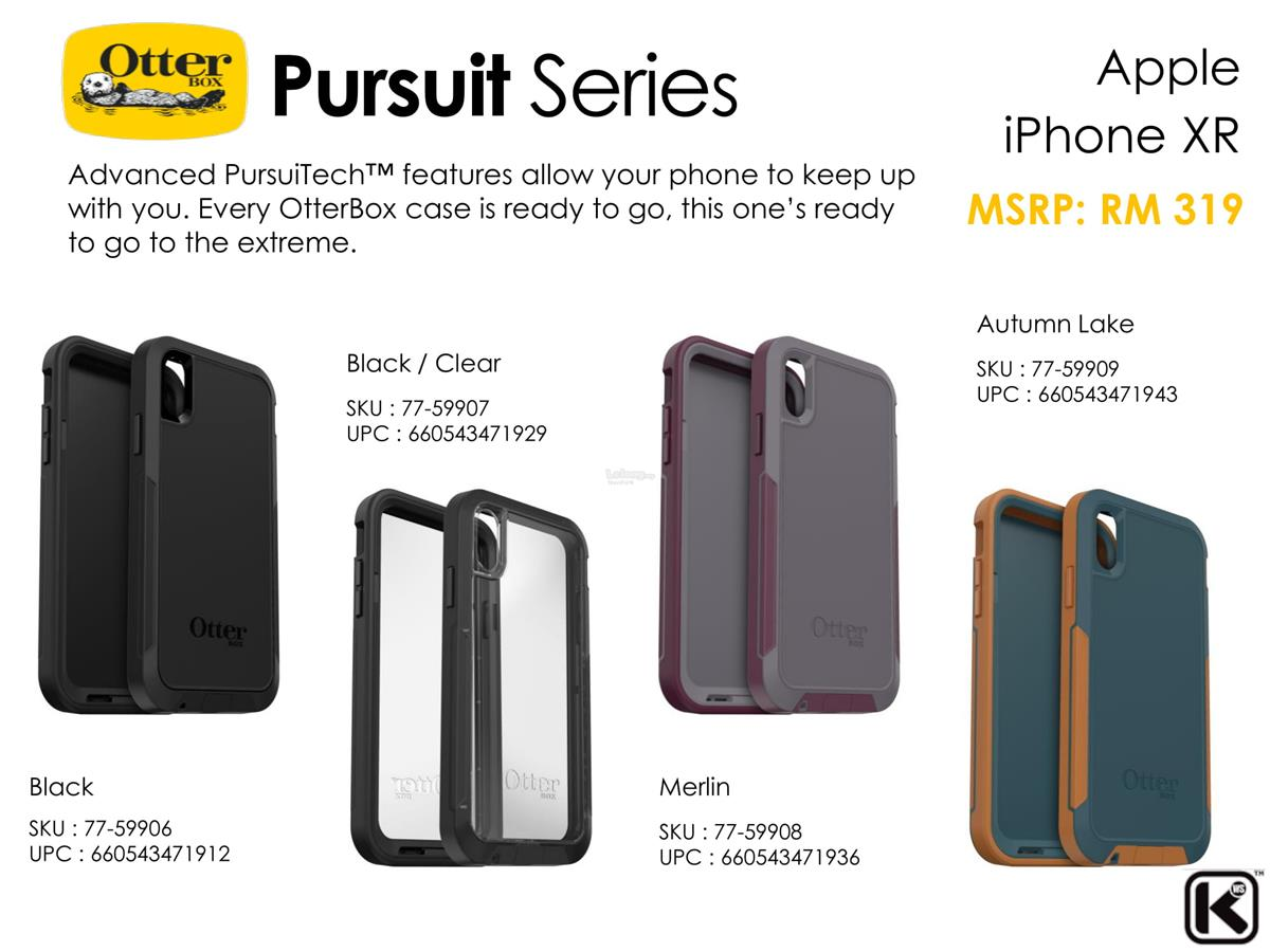 various colors 0fa6d c4395 ★ OtterBox Pursuit/ Defender/ Commuter/ Symmetry case iPhone XR